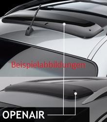 ClimAir Windabweiser Schiebedach für Mercedes-Benz M-Klasse W163 SUV 5-türer